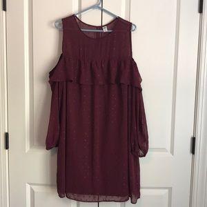 Old Navy cold shoulder dress